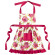 Ragged Rose Apron