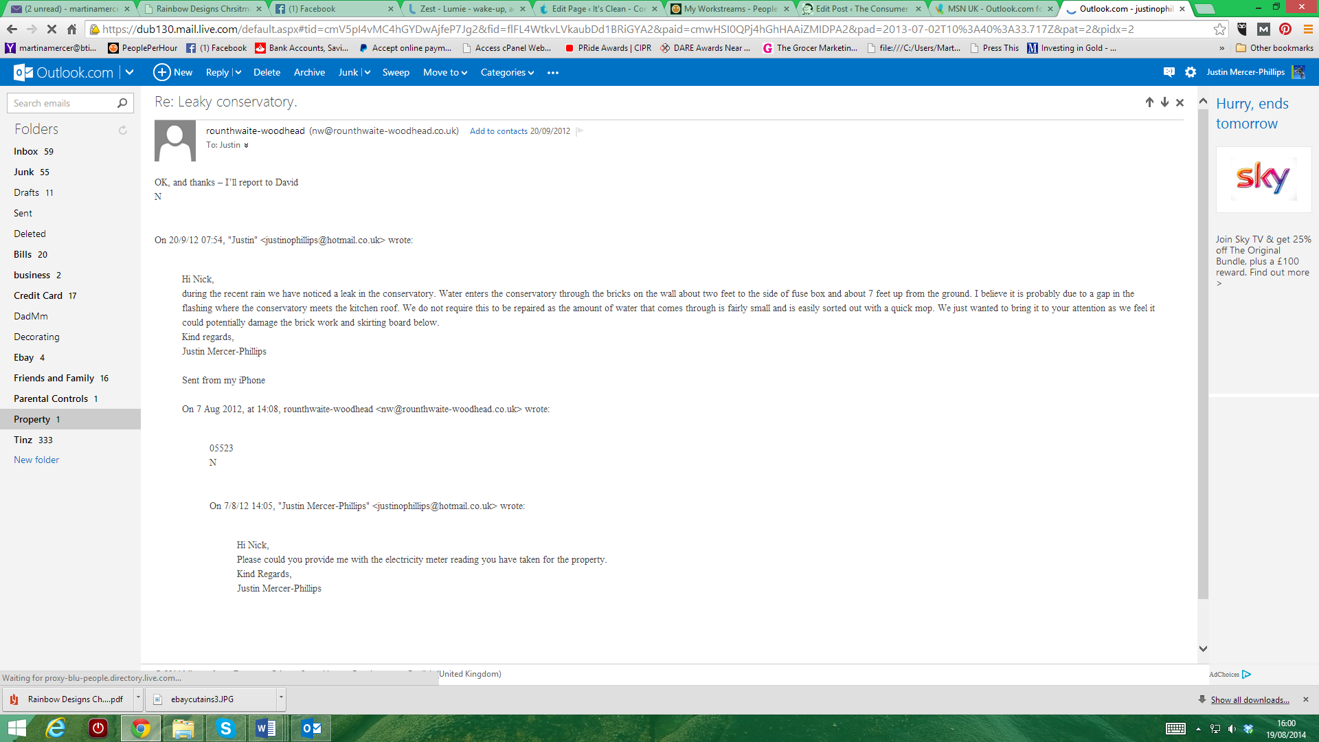 First Conservatory Complaint 2012