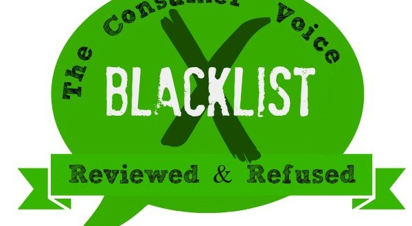 The Consumer Voice Blacklist of companies you should avoid