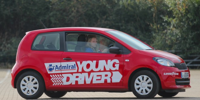 A Young Driver lesson in progress