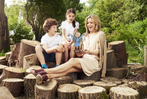 Be outrageous and go the whole hog: Matilda surprises Gabby Logan as she is the first to try 'My Messy Adventure,' a brand new interactive story featuring some of Roald Dahl's most famous characters. The story was created by Persil, the Roald Dahl Literary Estate and Quentin Blake to encourage families to get outdoors this summer