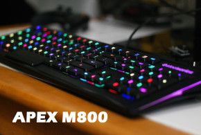 APEX M800 Gaming Keyboard Review by Teen Gamer