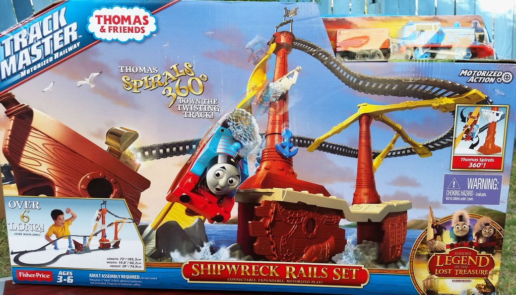 Thomas shipwrecked