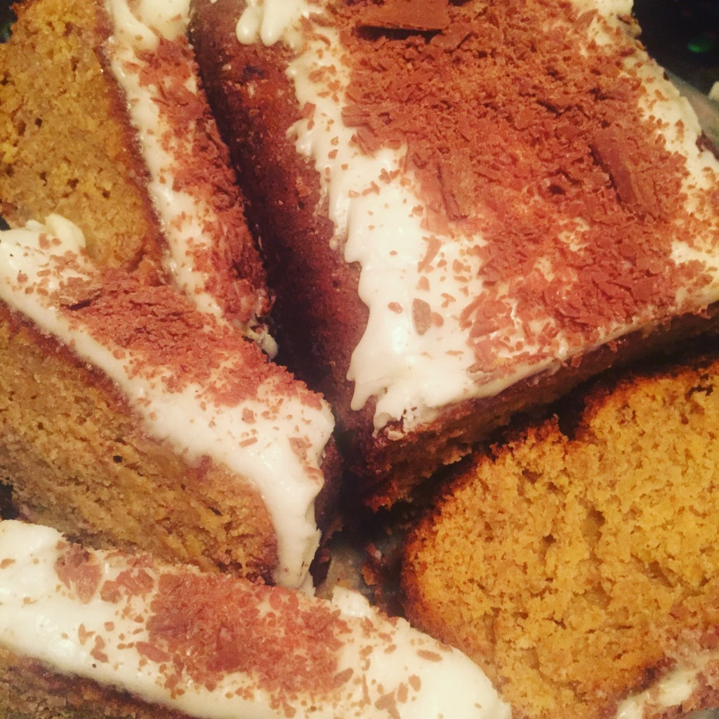 Banana Drizzle cake recipe with Barefaced groceries