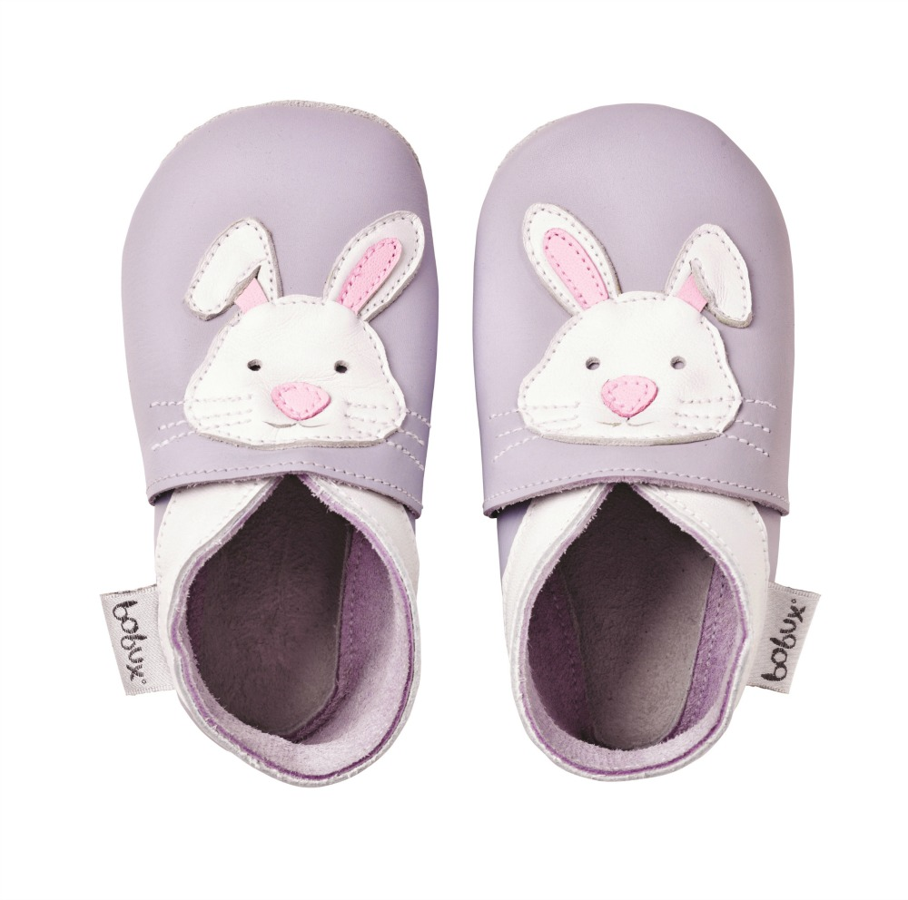 Bobux Soft Sole - light purple Rabbit