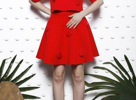 red-mini-skirt